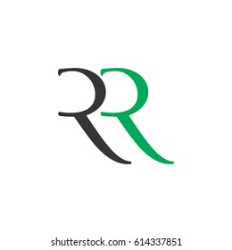 letter r and r logo