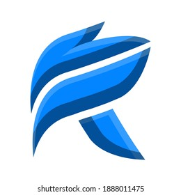 Letter R Logo Concept Perfect for your ecology theme
