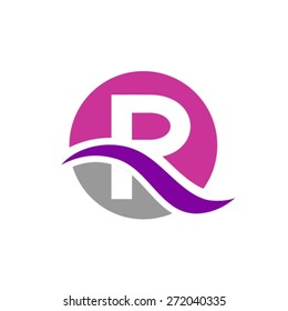 Letter r logo images stock photos vectors shutterstock letter r logo design thecheapjerseys Gallery