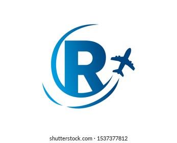 Letter R logo or symbol template design