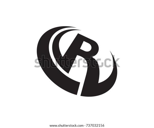 letter r logo template  Letter R Logo Template Design Vector Stock-Vektorgrafik ...