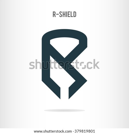 letter r logo template letter r stock vector royalty free