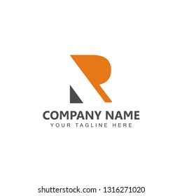 Letter R Logo Vector Design