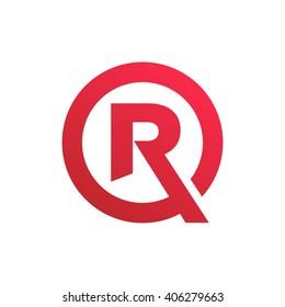 Letter R Symbol