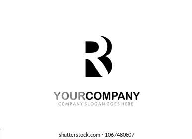 Letter RB Logo Design Modern Concept