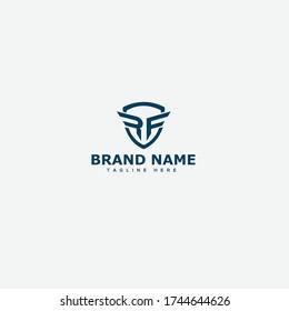 Letter RF logo icon design template elements