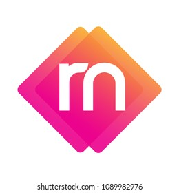 Letter rn images stock photos vectors shutterstock letter rn logo with colorful geometric shape letter combination logo design for creative industry altavistaventures Gallery