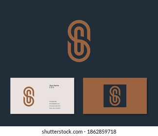 Letter S G logo design. creative minimal monochrome monogram symbol. Universal elegant vector emblem. Premium business logotype. Graphic alphabet symbol for corporate identity