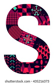 Letter S from my letter collection