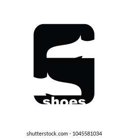 Letter S Shoes Logo