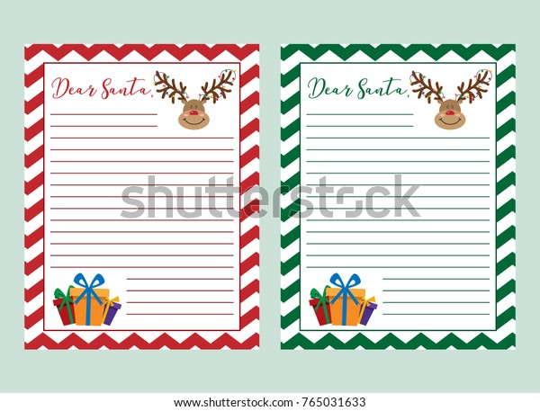 photograph about Santa Claus Patterns Printable identified as Letter Santa Claus Vector Example Printable Inventory