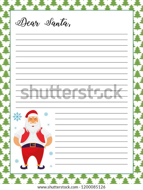 graphic regarding Printable Pictures of Santa Claus referred to as Letter Santa Printable Web site Santa Claus Inventory Vector