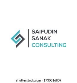 Letter SC or CS logo combination. Initial logo design.