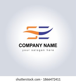 Letter SE Logo Vector Design Illustration for your Business Identity template. Creative Company Name with slogan brand logo. Unique Letter SE Logo Icon for monogram . Beautiful Company Logo Idea.