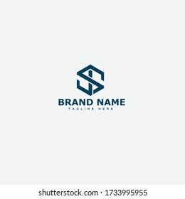 Letter SJ, JS Logo template design