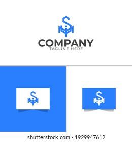 Letter SMI Logo Design Template
