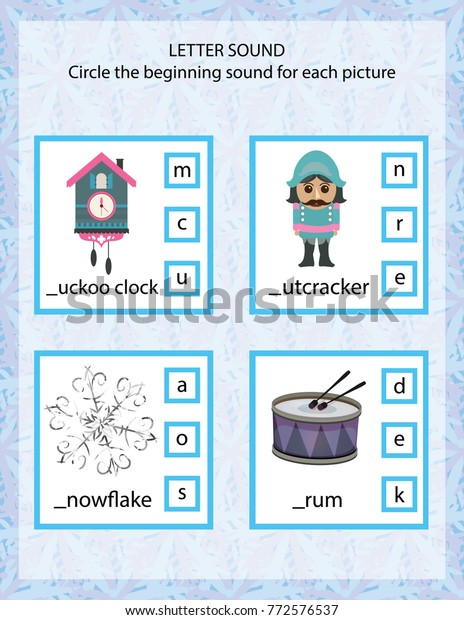 photo about Nutcracker Worksheets Printable identify Letter Solid Children Printable Gamevector Instance Inventory