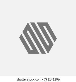 letter SS 55 S5 5S NN logo vector