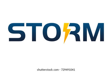Letter Storm Company Logo