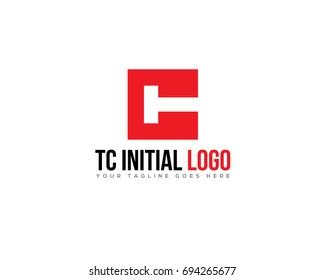 LETTER T C INITIAL COMPANY LOGO