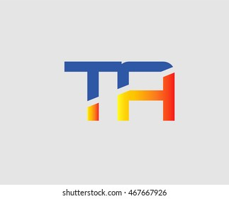 Letter ta, t and a logo vector