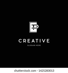 Letter TP Creative Business Logo Design