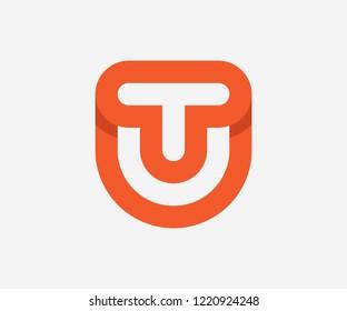 letter tu logo