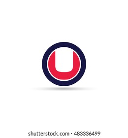 Letter U logo icon