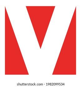 letter v logo vector concept