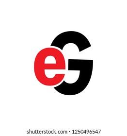 eg letter vector logo