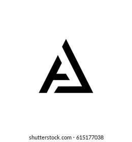 Aj Initial Letter Logo Stock Vectors, Images & Vector Art | Shutterstock