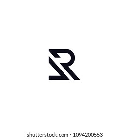LETTER VR LOGO DESIGN VECTOR ICON TEMPLATE