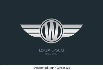 Wing Car Logo Images Stock Photos Vectors Shutterstock
