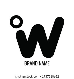letter W logo or icon