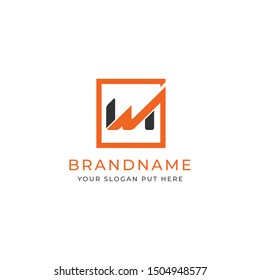 Letter wm or mw logo/identity design template for use all business purpose