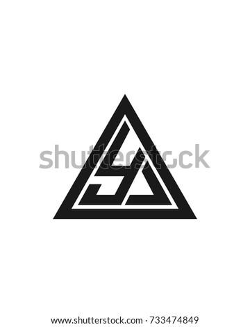 letter y logo design template