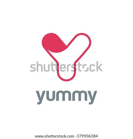 Letter Y Logo Design Vector Template Stock Vector Royalty Free