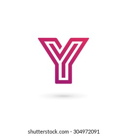 Letter Y logo icon design template elements