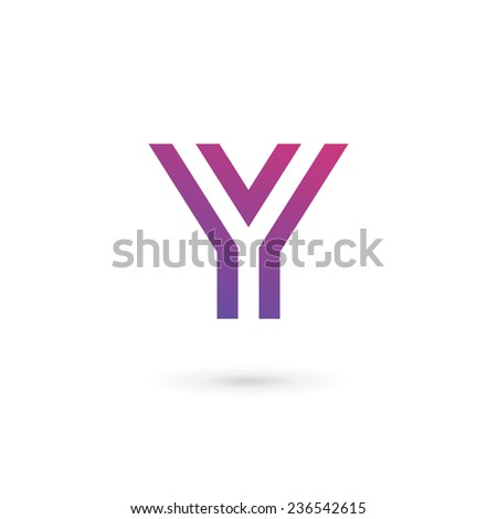 Letter y logo icon design template stock vector royalty free letter y logo icon design template elements maxwellsz