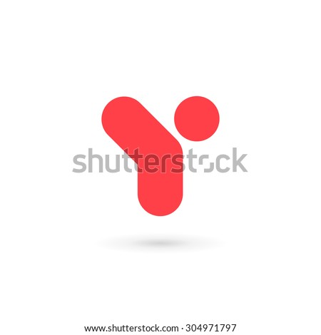 Letter Y Logo Icon Design Template Stock Vector Royalty Free