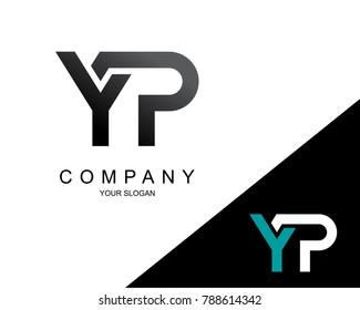 Letter YP Logo Icon Design Template Element