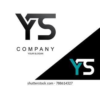 Letter YS Logo Icon Design Template Element