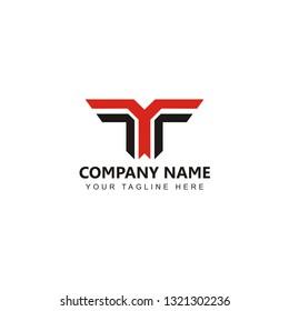 Letter YT Logo Design Inspiration