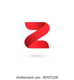 Letter Z digit 2 logo icon design template elements