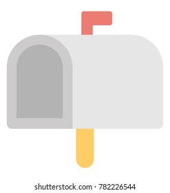 Letterbox Vector Icon