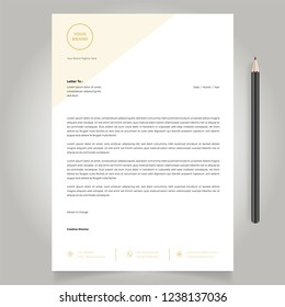 letterhead design template