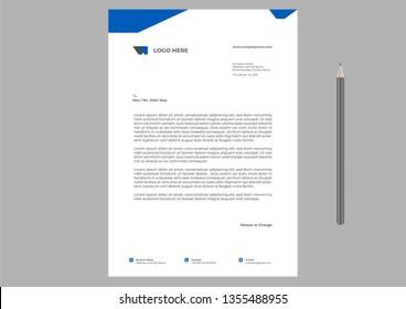 letterhead Design Template