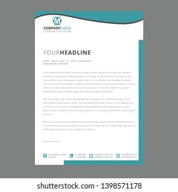 Letterhead Pad Design/Corporate letterhead pad design