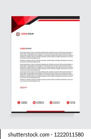 Letterhead Template Vector Illustration