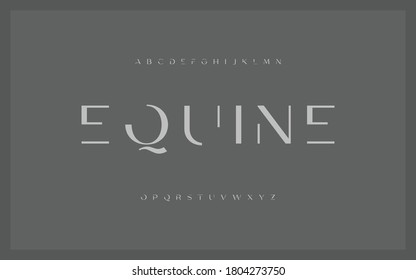 Lettering Minimalist Fashion Designs. Modern alphabet letters font and number. Typography fonts regular, uppercase and lowercase. - Shutterstock ID 1804273750